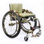VENUS ADVENTURE fixed frame  titanium wheelchair