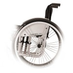 VEGA-E ultra lightweight foldable wheelchair